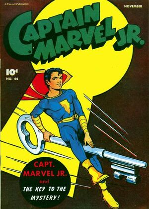 Cover for Captain Marvel, Jr. #44