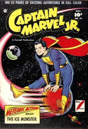 Cover for Captain Marvel, Jr. #91