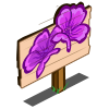 Purple Poppy Mastery Sign-icon