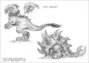 Lost Isle Dinosaurs concept art