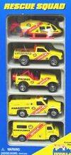 Hot Wheels 1997 Rescue Squad (5-Pack)