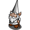 Silver Gnome-icon