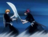 Ichigo &amp; Renji fight