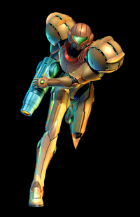 Samus Varia Corruption Render Black