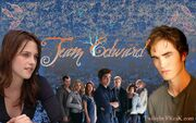 Twilight edward cullens bella wallpaper