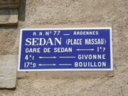 Plaque N77 Sedan Nassau