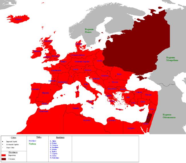 Imperium of the Roman Empire