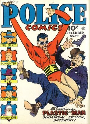 Cover for Police Comics #14