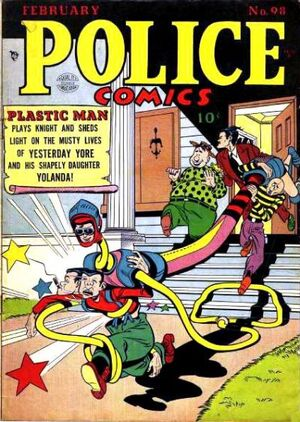 Cover for Police Comics #98