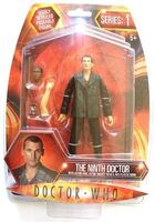 The Ninth Doctor with Auton Arm, Mickey Head & Anti Plastic Bomb