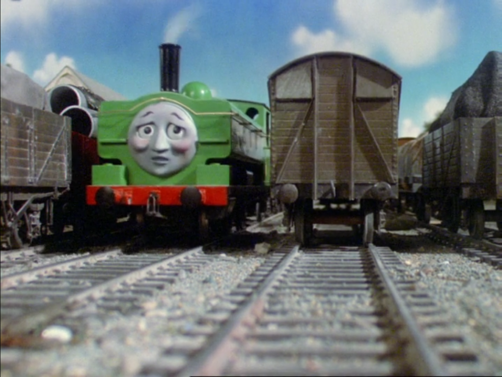 Duck and Oliver's Crazy Great Western Adventures: It's Thomas, but with a twist. DirtyWork26