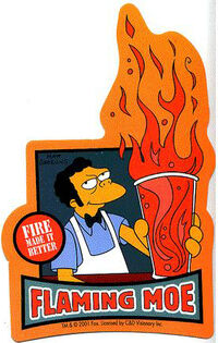 Flaming Moe