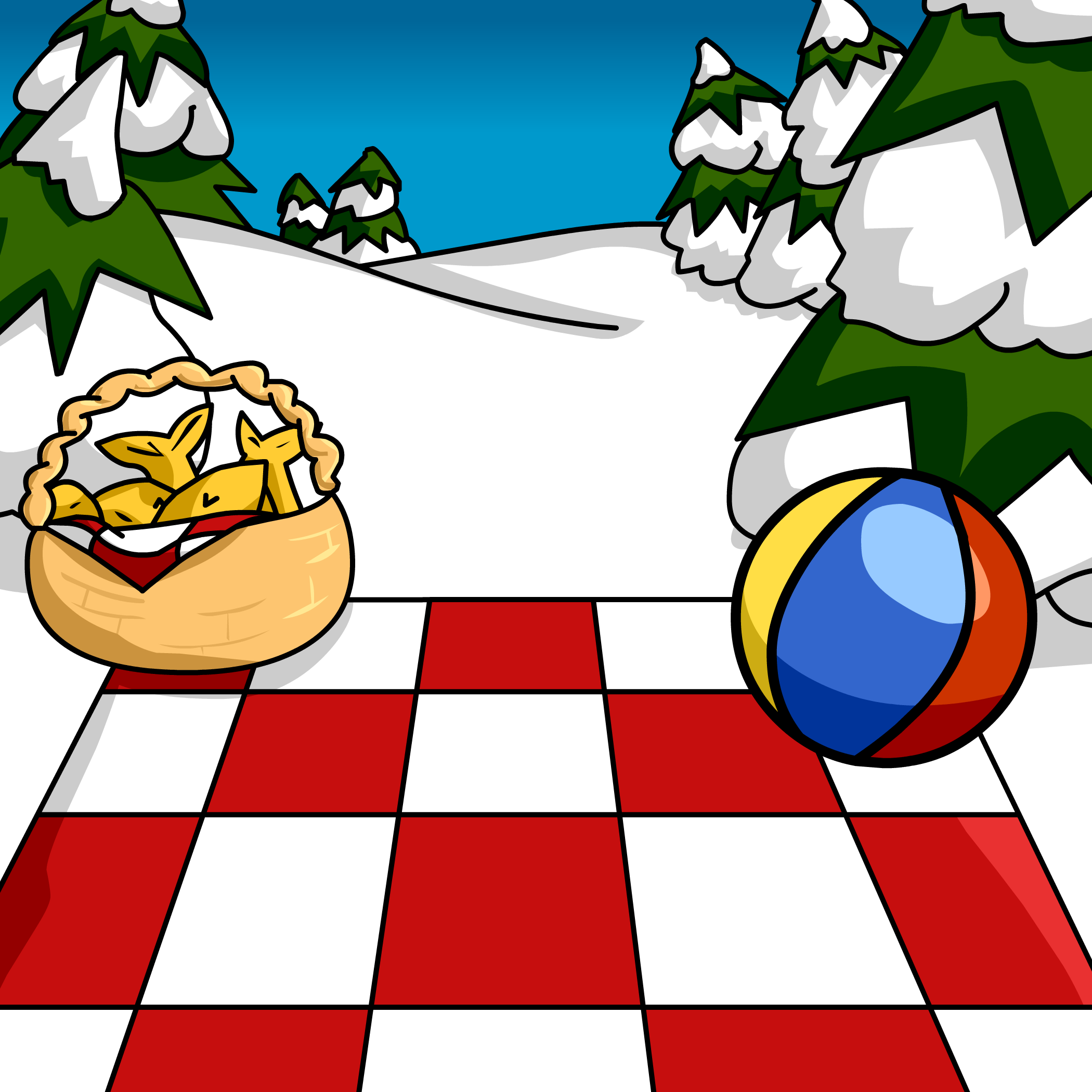 Picnic Background http://clubpenguin.wikia.com/wiki/Picnic_Background