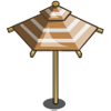 Tuscany Umber Umbrella-icon