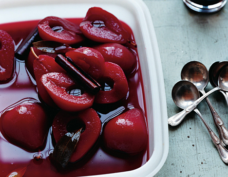 Party Perfect Poached Pears - Recipes Wiki
