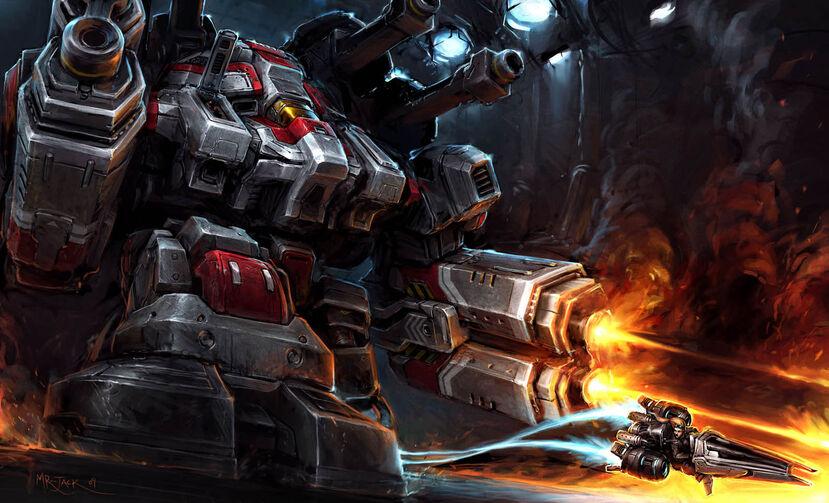 Most Badass Robot 829px-Odin_CollateralDamage_Art1