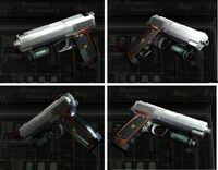 RE4 handgun inventory