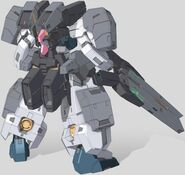 GN-008GNHW Seravee Gundam Rear
