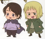 Baby Austria and Switzerland Anime