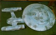 USS Enterprise-C studio model