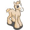 Cream Draft Foal-icon