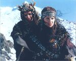 Alti and Xena