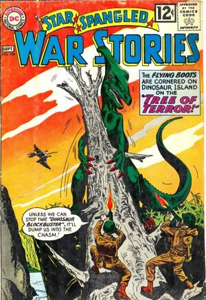 Cover for Star-Spangled War Stories #104
