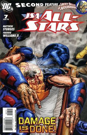Cover for JSA All-Stars #7