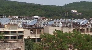 Tirupati solar installation