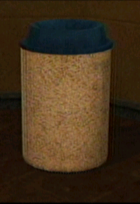Dead rising garbage can