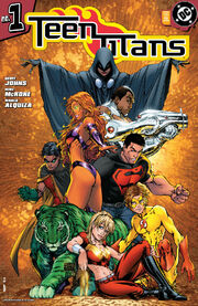 Teen Titans Vol 3 1 Variant