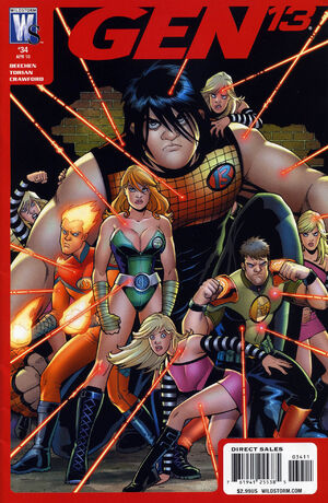 Cover for Gen 13 #34