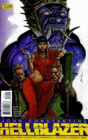 Cover for Hellblazer #262