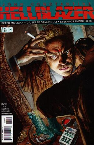 Cover for Hellblazer #263