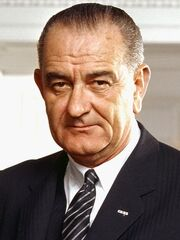 450px-37 Lyndon Johnson 3x4