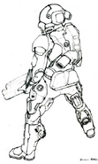 CNCTW Early Commando Concept Art 3