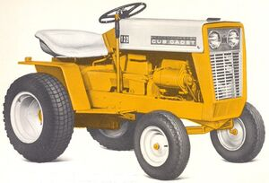 International Cub Cadet 122 1967