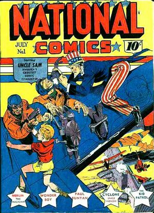 Cover for National Comics #1