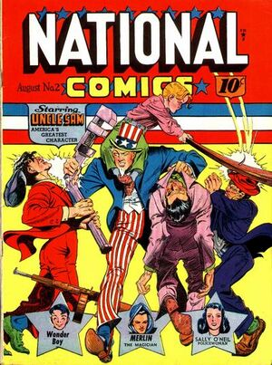 Cover for National Comics #2