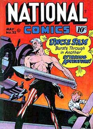 Cover for National Comics #32