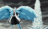 Hitsugaya turns back on frozen Harribel