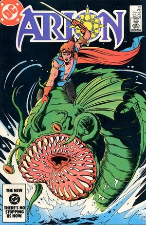 Cover for Arion Lord of Atlantis #22