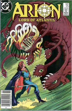 Cover for Arion Lord of Atlantis #25
