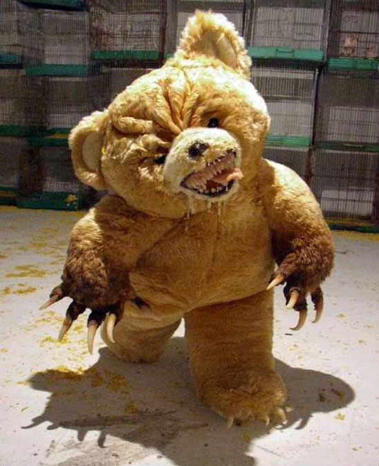 Such a Beautifull Night.. Teddy-bear-omg