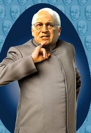 Dick Cheney is really Dr. Evil