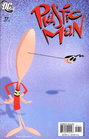 Cover for Plastic Man #17