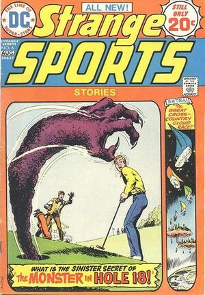 Cover for Strange Sports Stories #6