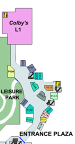 Paradise Plaza Map