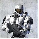 Another version of an ODST suit (ODST helmet, CQB vest, EVA shoulders)