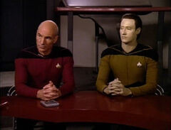 Picard defends Data, The Measure Of A Man